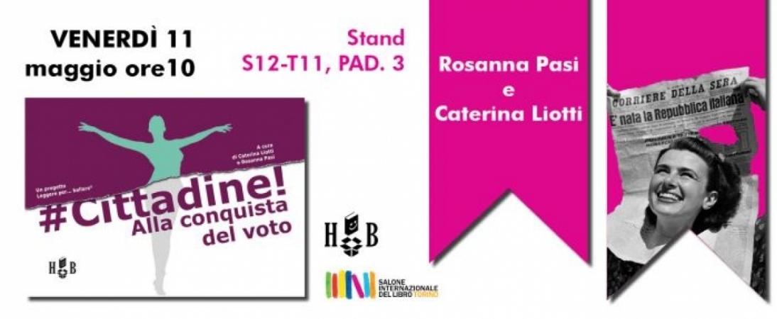 #Cittadine al salone del Libro di Torino